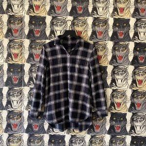 Madewell Flannel Ex-Boyfriend Shirt